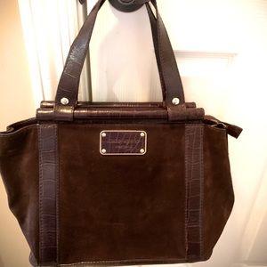 Kate Spade ♠️ Brown Sueded Handbag
